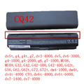 5200MAH 11.1V 6cells battery notebook laptop batteries FOR HP Compaq MU06 MU09 CQ42 CQ32 G62 G72 G42 593553-001 DM4 593554-001