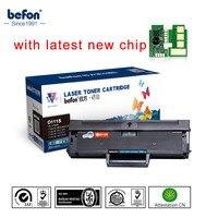 Befon czarny napełnić  D111S wkład kompatybilne z Samsungiem MLT D111S ML111 111 111S kaseta z tonerem M2020 2022W 2070W drukarki w Kasety z tonerem od Komputer i biuro na