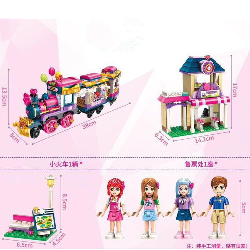 ENLIGHTEN-City-Girls-Princess-Move-Maersk-Train-Car-Building-Blocks-Sets-Bricks-Model-Kids-Classic-Compatible (3)