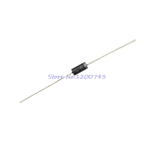 100Pcs//Lot IN4004 1A 400V DO-41 Rectifier Diode