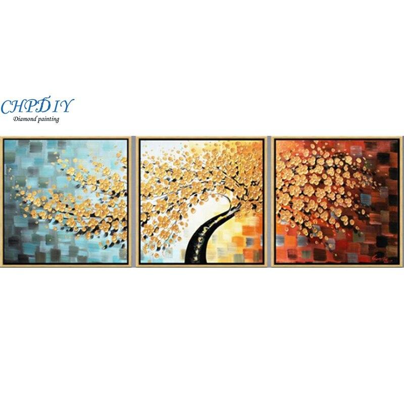Pełna diamentowa malowanie, 180x60CM europejski drzewa pieniędzy, Rhinestone Handmade diament mozaika, rośliny, diy diament haft w Diamentowy obraz ścieg krzyżykowy od Dom i ogród na  Grupa 1