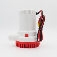 12V 2000GPH Bilge Pump 3m3 H Small DC Submersible Water Pump For Fountain Garden Irrigation Swimming