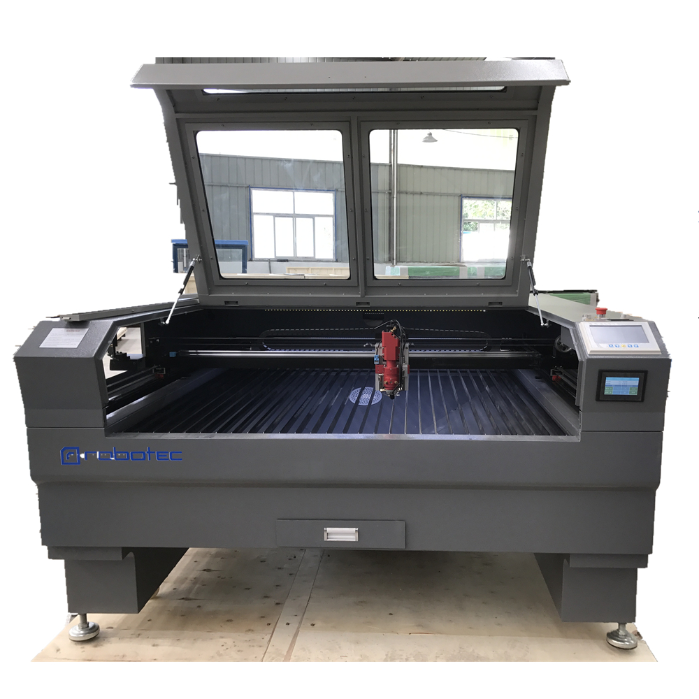 Advertising Industry Metal Laser Cutting Mahcine For 1-2mm SS Sheet