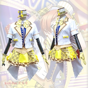 2018 New LoveLive! Card HR Hoshizora Rin Cosplay Costume Fancy Dress Adult Costumes Carnival/Halloween Costumes for Women S-XL 1
