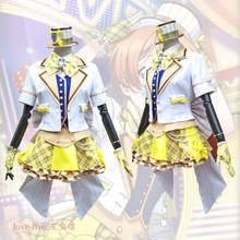 2018 New LoveLive! Card HR Hoshizora Rin Cosplay Costume Fancy Dress Adult Costumes Carnival/Halloween for Women S-XL
