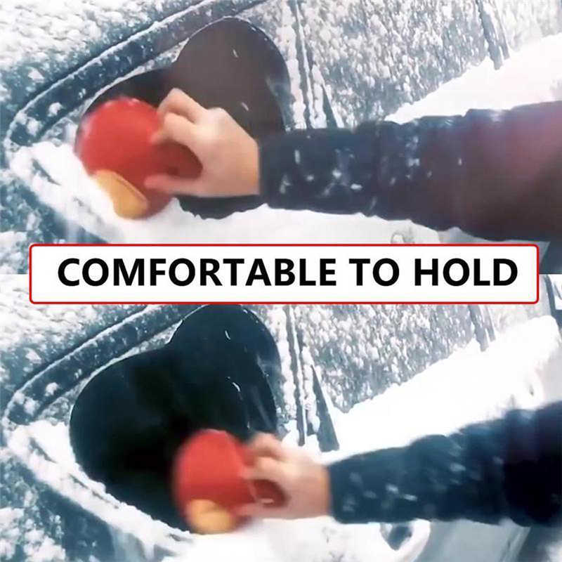 Scrape A Round Magic Cone-Shaped Windshield Ice Scraper Snow Shovel Tool will not scratch the glass #2n27 (5)