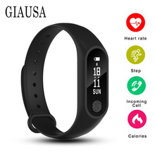 M2 smart watch blood pressure measurement waterproof fitness for mi  honor band 3 and iphone