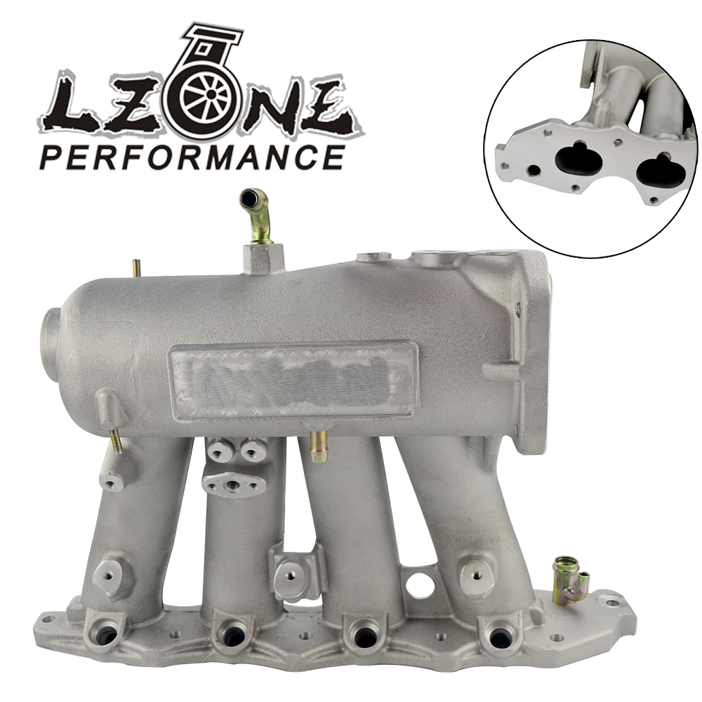 LZONE RACING - Intake Manifold For b18c1 Aluminum 70mm Cast air Intake Manifold FOR 94-01 Acura Integra Dc2 Dc4 JR-IM43-CA lzone racing new intake manifold for mazda 3 mzr for ford focus duratec 2 0 2 3 engine cast aluminum intake manifold jr im49sl
