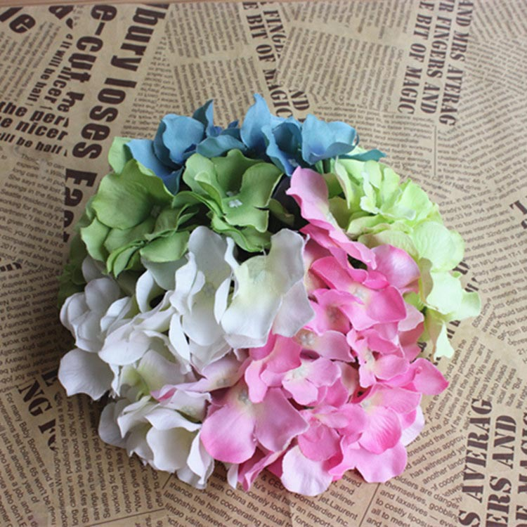Wedding Arch Flowers Diy: 5.5CM Artificial Silk Hydrangea Flowers Bouquets,real