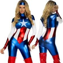 Desempeñar el papel de halloween cosplay mujer superman u. s. ropa a capitán thor ropa y accesorios cosplay de acero