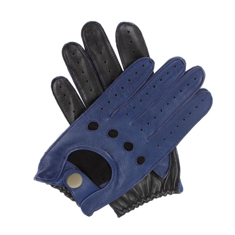 New Arrival Male Genuine Leather Gloves Sheepskin Mens Wrist Unlined Breathable Genuine Fashion Driving Gloves Men Mittens