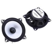 Free Shipping 1 Pair 2x60W 4 Inch Car Stereo Audio Speaker Automotive Car Full Range Foam