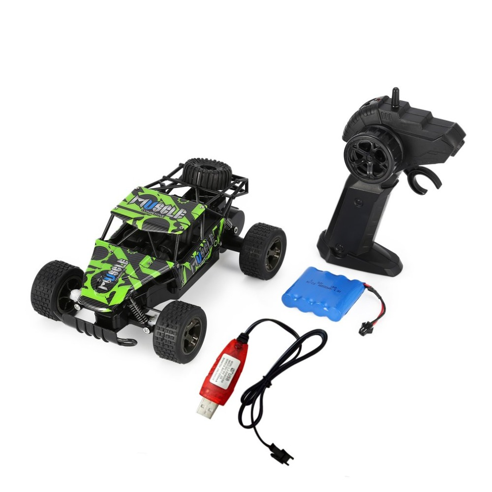 RC Car 2.4G 1/18 15km/h High Speed Racing RC Car Off road Buggy Truck Desert Remote Control Vehicles for Kids Gift Hot