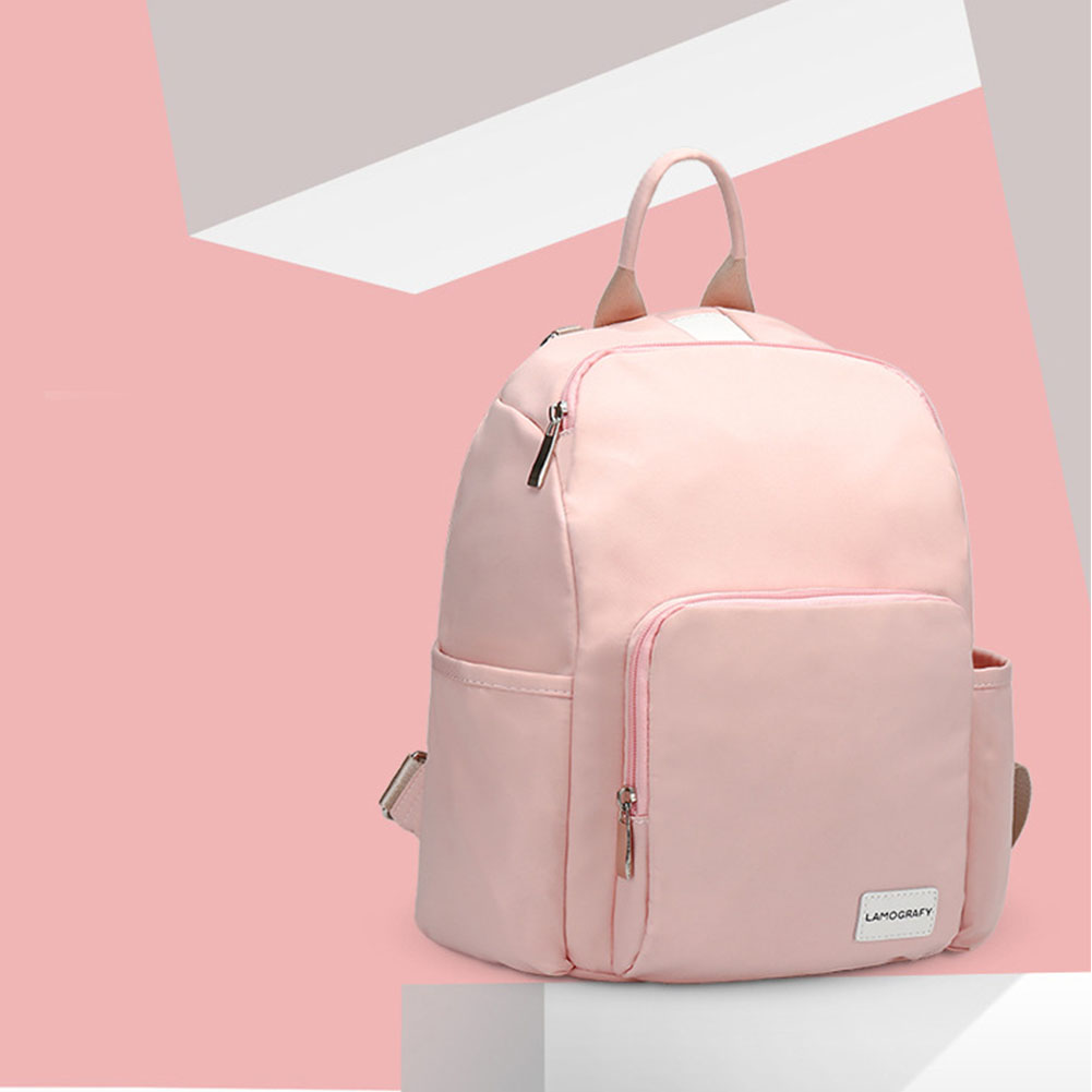 Nappy Adjustable Travel Backpack Waterproof Multifunction Nursing Mummy Diaper Bag Large Capacity Baby Care Lightweight Handbag