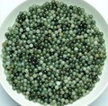 New  10pcs Imperial Green Real 100% Natural Jade/Jadeite 3.5-4mm Loose Beads Pendant