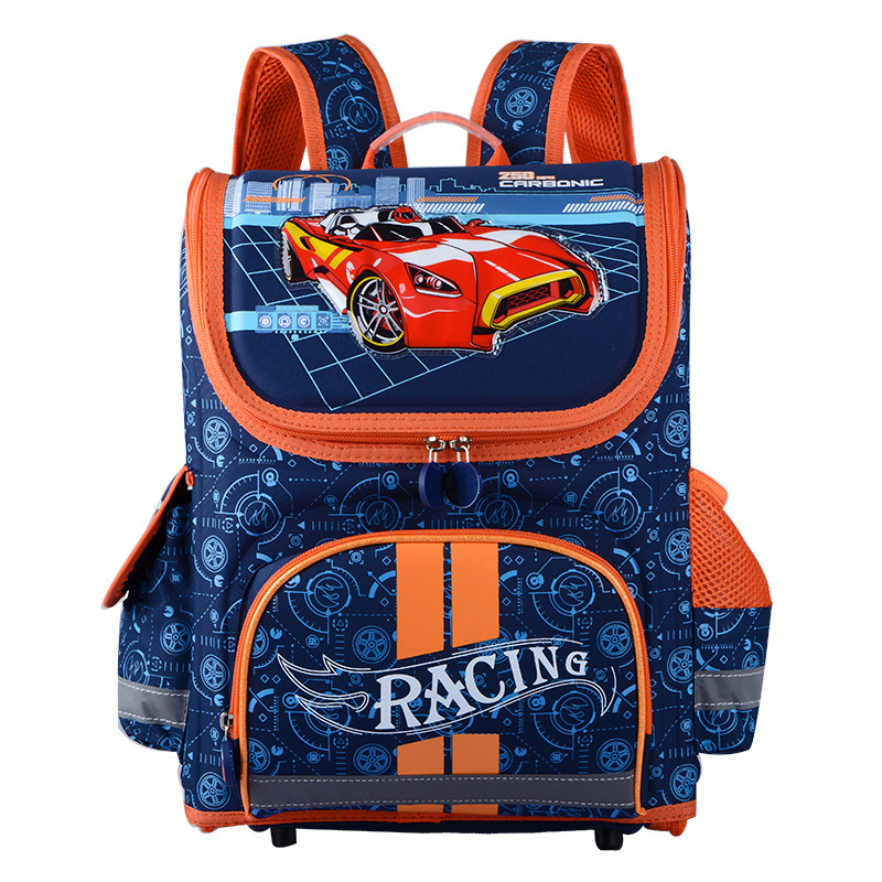Hot School Bags For Kids EVA Folded Orthopedic Satchel Children School Bags For Boys Cartoon Book Bag Mochila Infantil