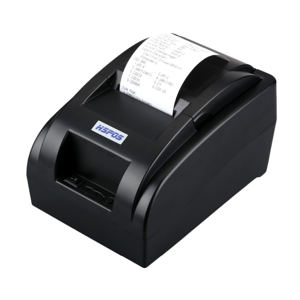 Cheap POS58 thermal printer 2inch usb small receipt printer support windows10 no need ribbon impressora for resale POS system low cost and high quality thermal printing cheap pos80 receipt printer support linux windows10 use for business hs 825uc