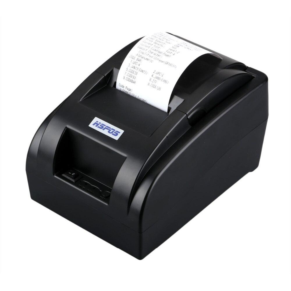 Pas cher POS58 imprimante thermique 2 pouces usb petite réception imprimante soutien windows10 pas besoin ruban impressora pour revente POS système