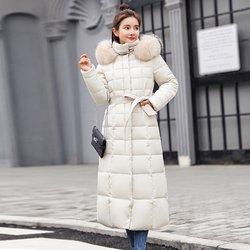 X-Long 2019 New Arrival Fashion Slim Women Winter Jacket Cotton Padded Warm Thicken Ladies Coat Long Coats Parka Womens Jackets 4
