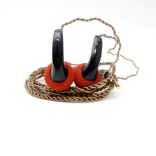 Newest FENGRU DIY EMX500 In-ear Earphones Flat Head Plug DIY Earphone HiFi Bass Earbuds DJ Earbuds Heavy Bass Sound Quality