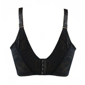 Varsbaby Women's Full Coverage Underwear  Lace Bra Black Beige large Size 34 36 38 40 42 44 46 48 B C  D E F G H 5