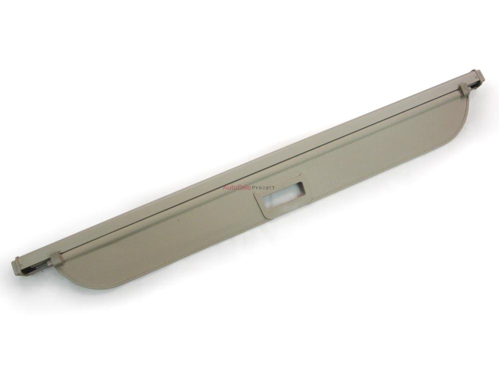 Aluminium alloy + Fabric Rear Trunk Security Shield Cargo Cover For BMW X5 E53 1998 1999 2000 2001 2002 2003 2004 2005 2006 car rear trunk security shield cargo cover for volkswagen vw tiguan 2016 2017 2018 high qualit black beige auto accessories