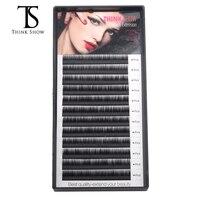 Thinkshow 8pcs/lot Individual Korea Slik Eyelash Extension Thick Fashion Makeup Lashes Eye Lashes Eye Lash Extension