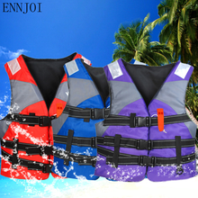 ENNJOI EPE 50×60 cm Adult Saving Life Jacket with whistle Water Sports Swimming Drifting Surfing Boating Ski Swimwear Life Vest
