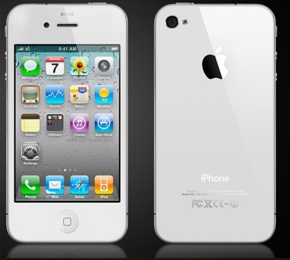 Full Original iPhone 4 Mobile Phone 512M RAM 8GB 16GB 32GB ROM Used Cellphone Like Brand