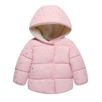 Baby Girls Jacket 2017 Autumn Winter Jacket For Girls Coat Kids Warm Hooded Outerwear Children Clothes