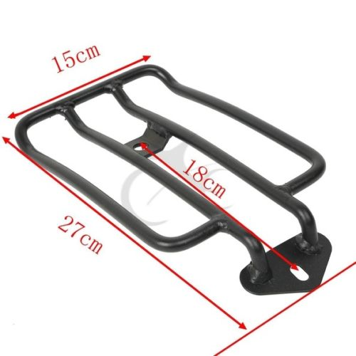 Motorcycle Black Solo Seat Luggage Support Shelf Rack For Harley XL Sportsters Iron 48 883 XL1200 2004-2018 2015 2016 2017