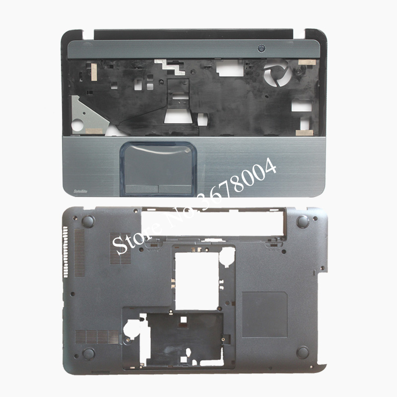 NEW Case cover For TOSHIBA L850 L855 C850 C855 C855D Palmrest COVER / Laptop Bottom Base Case Cover V000271660 case cover for lenovo ideapad yoga 2 pro 13 13 base bottom cover laptop replace cover am0s9000200
