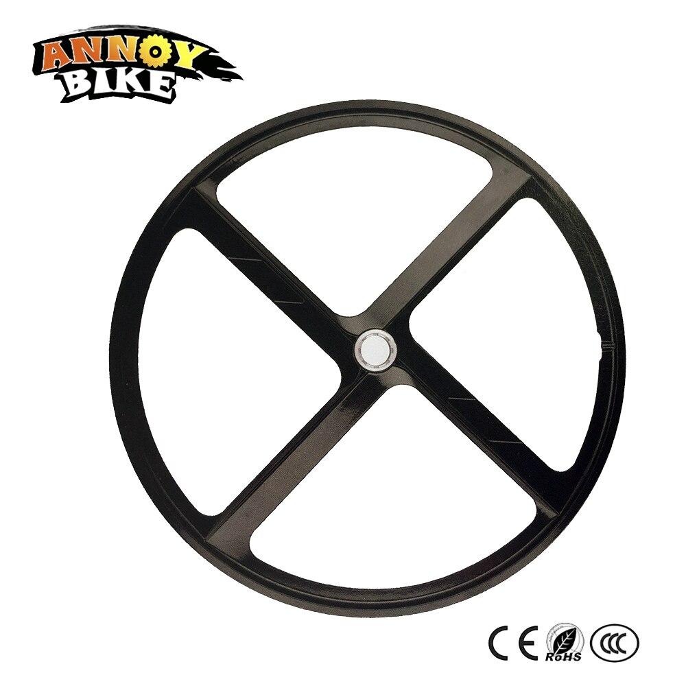 1 Piece Road Bike Wheels Bicicleta Aro 700C Single Road Bike MTB Wheel Bicycle Fixed Gear Wheel 4 Spoken Fixed Gear цена
