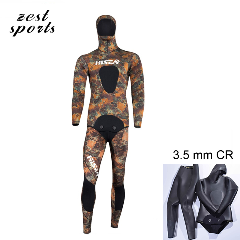 3.5mm men neoprene diving suit  Split wetsuit  Fishing and hunting clothing Siameseprofessional separated diving suit M018 5mm men neoprene diving suit split wetsuit fishing and hunting clothing siamese vest style hooded jacket my013