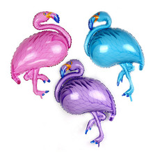 3pcs Flamingo Foil Balon Helium Inflating Balloon Festive Party Supplies Birthday Wedding Event Decoration Bachelorette Party стоимость