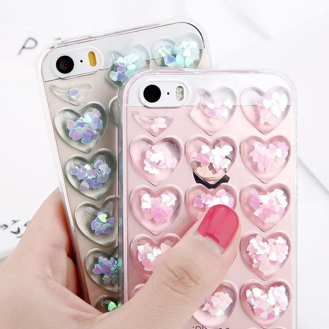 03ba0a16df Luxury Heart Liquid Quicksand Case For iPhone XS Max XR 3D Love Bubble Soft  Silicon Back Cover For iPhone X XR XS 6 6S 7 8 Plus