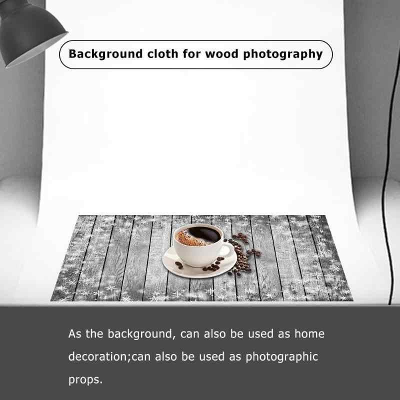 4 tailles bois planche photographie fond Art tissu Photo décors Studio écran Photo accessoires bureau Table Pad décoration vaporisateur peinturee