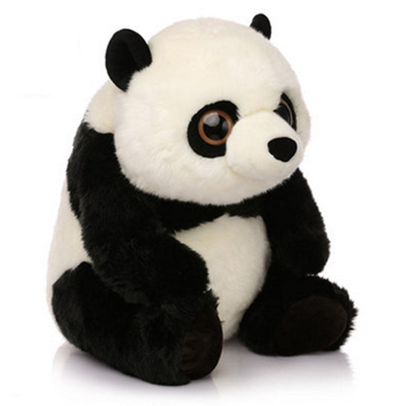 Dolls & Stuffed Toys Strict Best Selling!! 16cm Lovely Stuffed Panda Toy Kids Super Cute Christmas Gift New Animal Soft Plush Panda Present