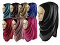 Shimmer stripe viscose hijabs