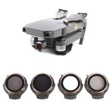 Для DJI Mavic Pro Professional/Platinum фильтр нейтральной плотности для объектива UV+ CPL+ ND4+ ND8 фильтр Polar C-PL аксессуары для дрона