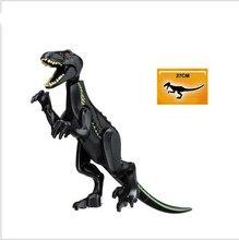 Jurassic World 2 Building Blocks All Dinosaurs Figures Bricks Tyrannosaurus Rex Indominus Educational Toys For Children цена и фото