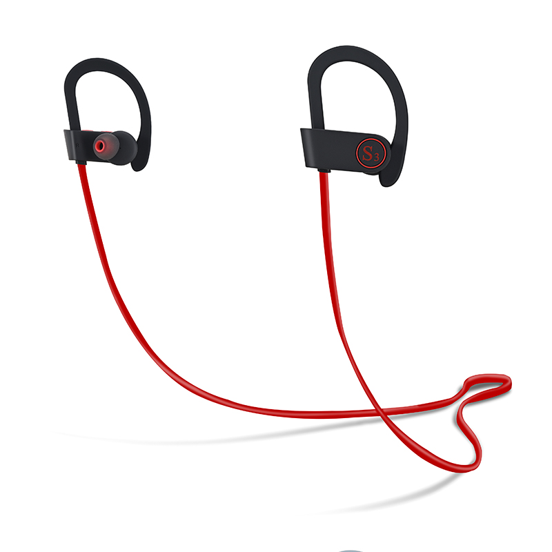 Stereo bluetooth earphone waterproof sport wireless mini headphones for xiomi iphone handsfree earpiece with microphone headset remax 2 in1 mini bluetooth 4 0 headphones usb car charger dock wireless car headset bluetooth earphone for iphone 7 6s android