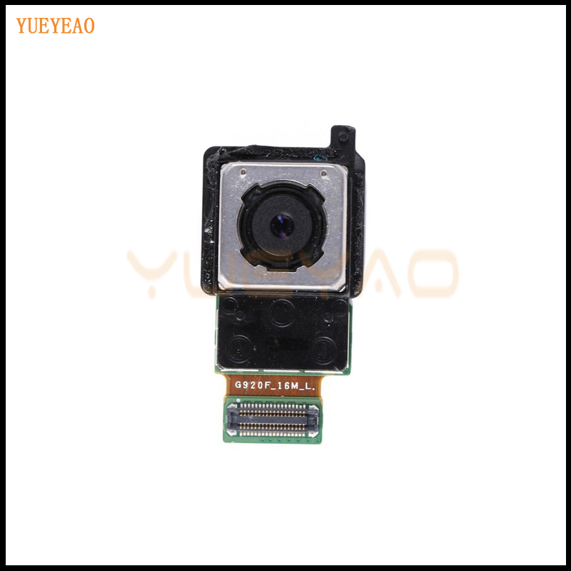 YUEYAO Rear <font><b>Camera</b></font> Back For <font><b>Samsung</b></font> Galaxy <font><b>S6</b></font> G920F G920A G920P G920V G920R4 Back Rear Main <font><b>Camera</b></font> <font><b>Module</b></font> Replacement Parts image