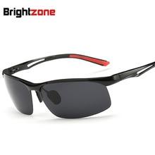 Luz Polarizada gafas de Sol Nuevas Gafas de Sol Hombre gafas de aluminio Y Magnesio gafas de sol gafas