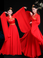 2019 summer hanfu ancient chinese costume chinese folk dance fairy costumes brocade women's classical chinese cosplay clothing
