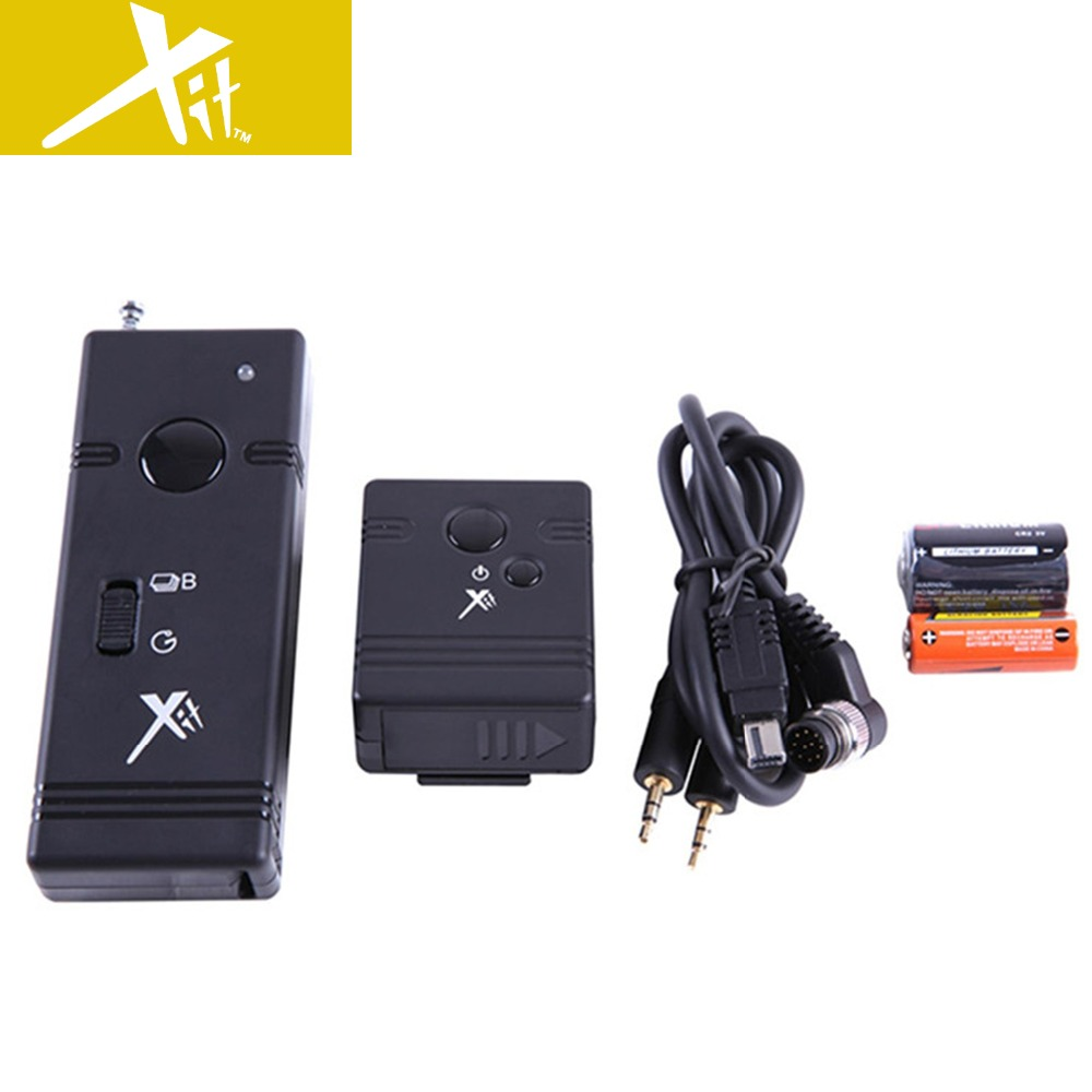 Xit Camera Shutter Release Cord Wireless Remote Xtnws For
