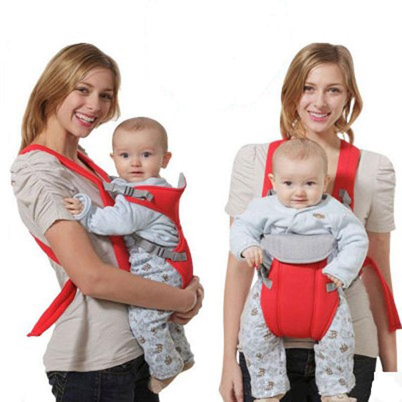 Infant Baby Carrier Newborn Cradle Kids Sling Wrap Pouch Bag Kangaroo New Breathable Adjule Front Back Rider Backpack In Backpacks Carriers From