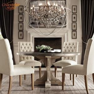 Image 5 - Feucault lustre suspendu en cristal, forme Orb, design rustique, éclairage dintérieur, luminaire dintérieur, luminaire dintérieur, idéal pour un hôtel, modèle pendentif LED