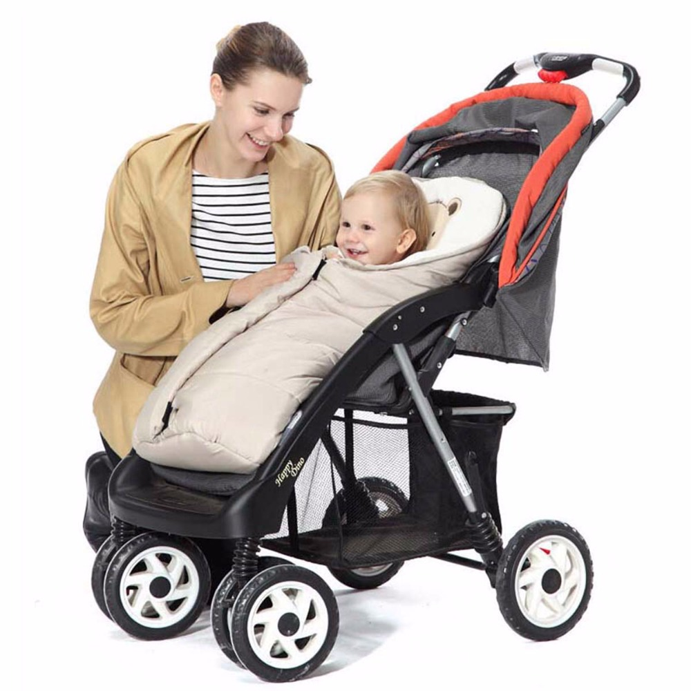 warm 2 colors high quality comfortable soft multifunctional sleeping Baby bag stroller blankets autumn winter children