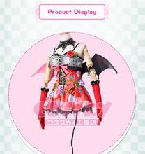 Anime love live TOJO NOZOMI little sweet devil awaken series Cosplay Costume Dress clothing cloth Free Shipping